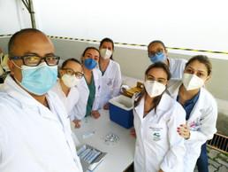 Saúde Ocupacional realiza vacinação anti-Influenza no HMTJ e UPA Santa Luzia