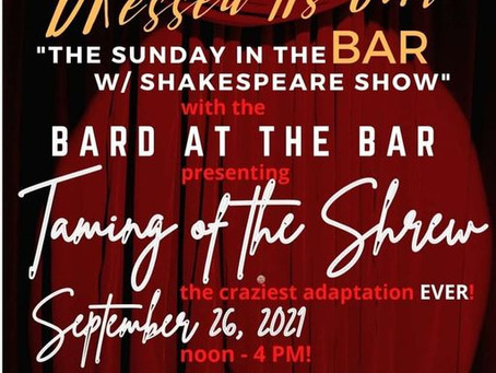 Shakespeare never imagined The Taming of the Shrew by Bard at the Bar.