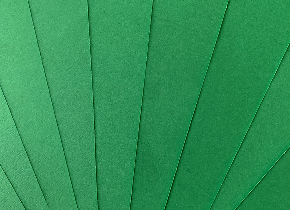 Christmas green tinted paper A5 size