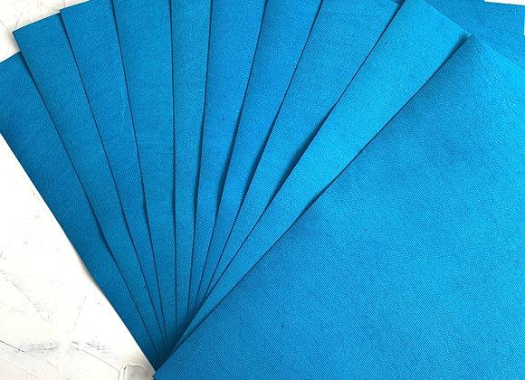 Dark sky blue textured paper