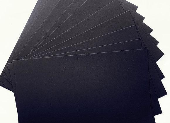 Black tinted paper