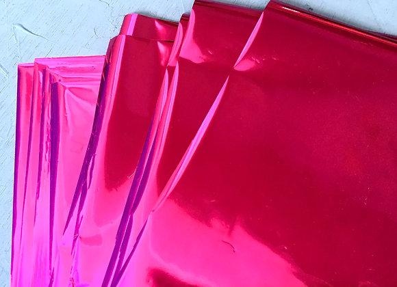 Dark pink shine foil