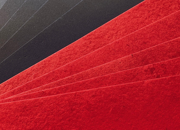 Red and Black Paper