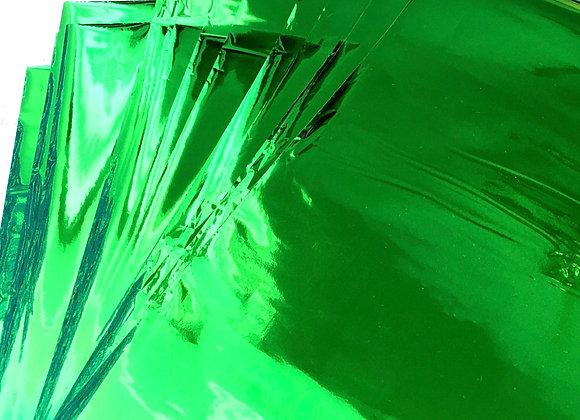 Bottle green shine foil