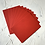 Thumbnail: Christmas red tinted paper A5 size