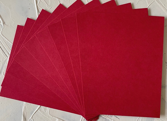 Dark pink ( rani color) tinted paper A5 size