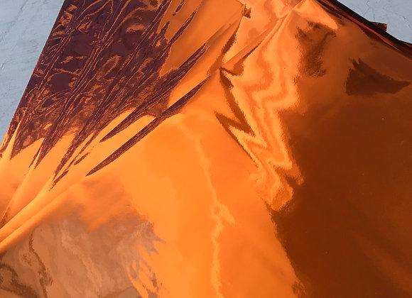 Orange shine foil