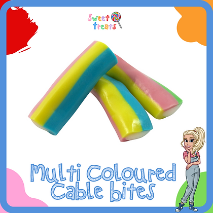 Multi Coloured Cable Bites