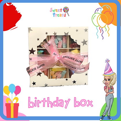 Silver Star Pick N Mix Birthday Box