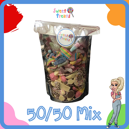 The Ultimate 50/50 Mix Pouch