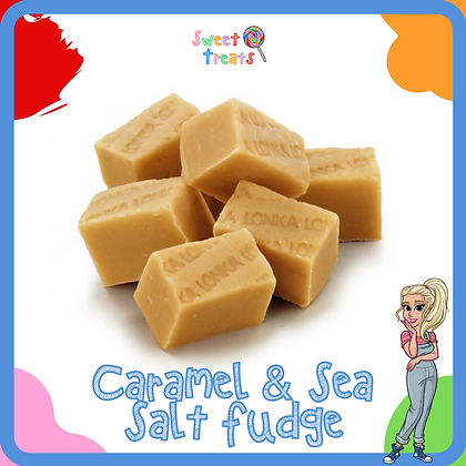 Caramel & Sea Salt Fudge