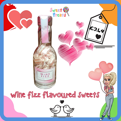 Wine fizz flavoured Sweets
