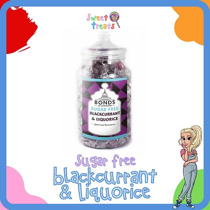 Sugar Free Blackcurrant & Liquorice
