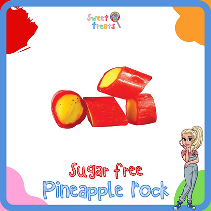 Sugar Free Pineapple Rock