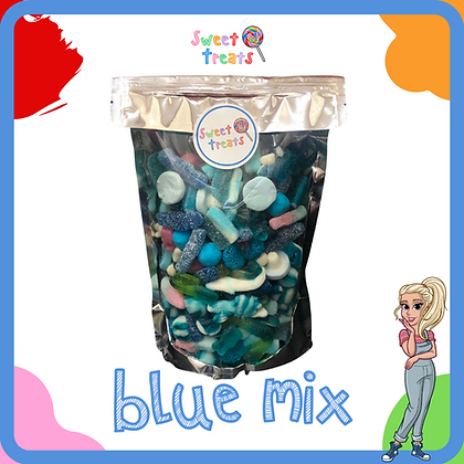 The Ultimate Blue Mix Pouch