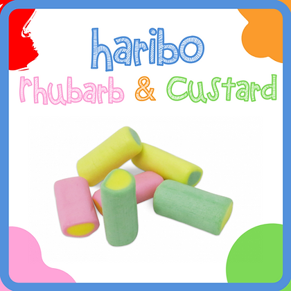 Haribo Rhubarb and Custard