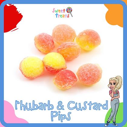 Rhubarb & Custard Pips