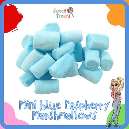 Mini Blue Raspberry Marshmallows