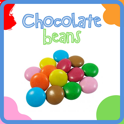 Milk Chocolate Beans (Smarties)