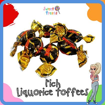 Rich Liquorice Toffee
