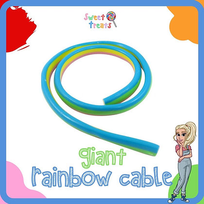 Giant Rainbow Cable