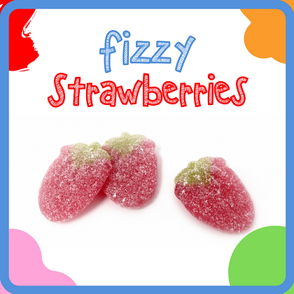 Fizzy Strawberries