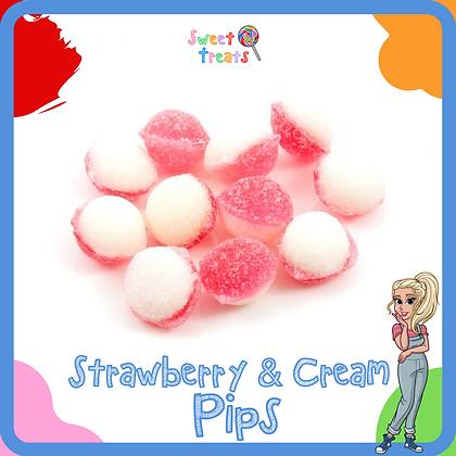 Strawberry & Cream Pips