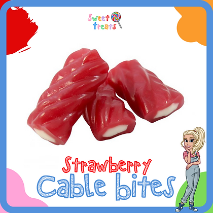 Strawberry Cable Bites