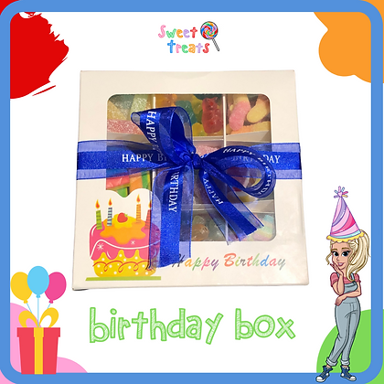 Happy Birthday Pick N Mix Birthday Box