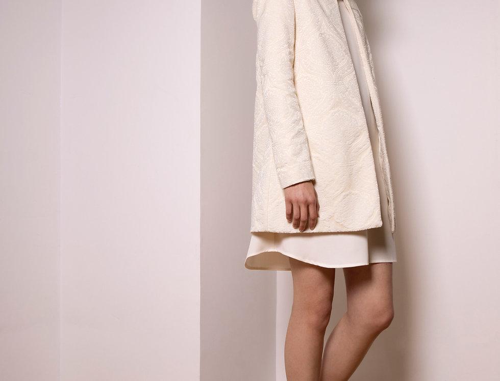 Moon damask coat