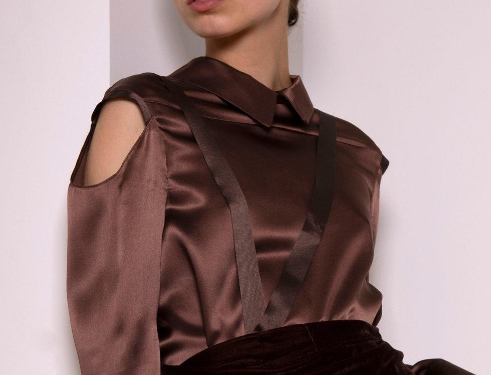 Asylum silk blouse