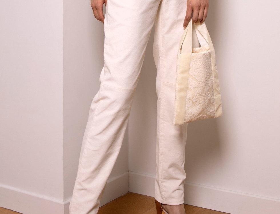 Asylum high-waist corduroy pants