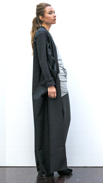 Draped wool coat                     Price on request     Product number: PS01C