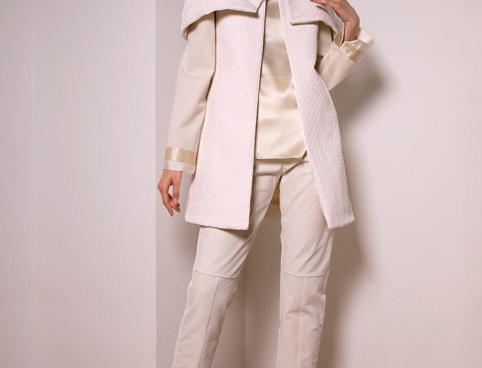 Asylum cotton cape coat