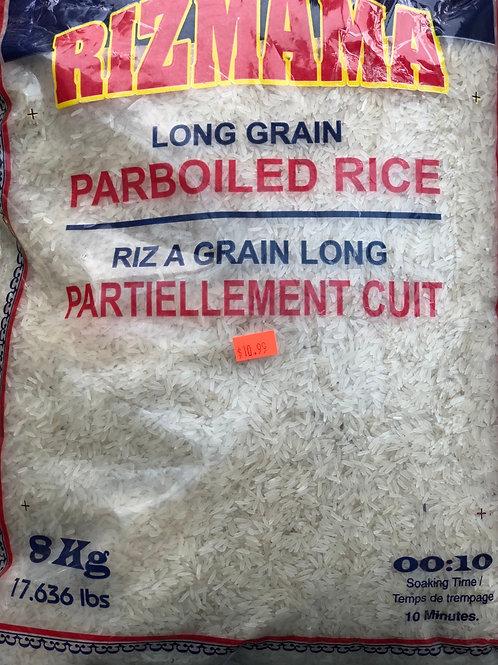 Riz Long Partiellement Cuit Rizmama 8kg