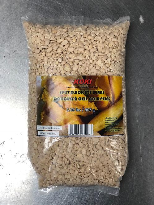Koki Split Haricots Yeux Noirs 900g