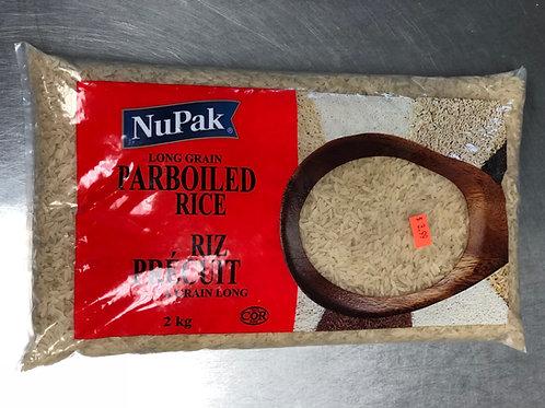 Riz Précuit Nupak 2kg