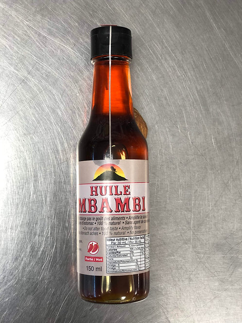 Huile Piquante Mbambi 150ml