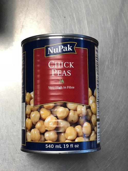 Pois Chiches Nupak 540g