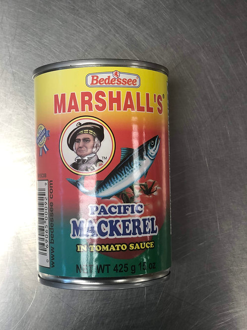 Marshall's Mackerel 425g