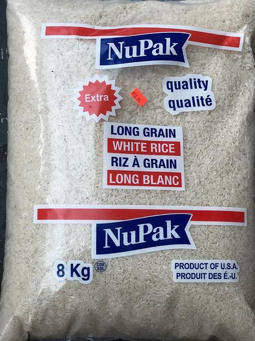 Riz Long Nupak 8kg