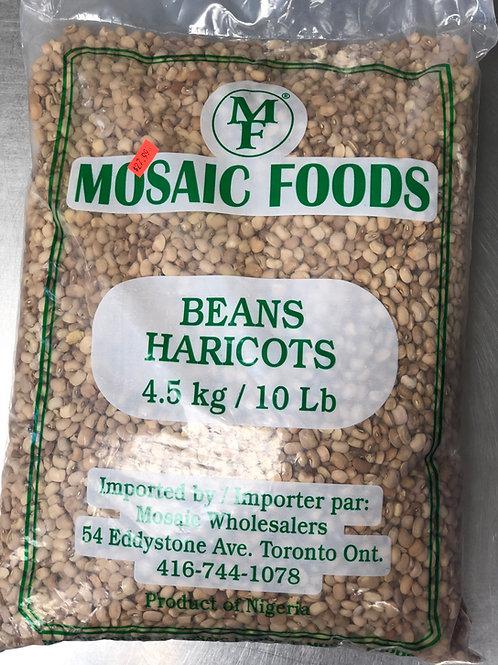 Haricot Mosaic Foods 10lb
