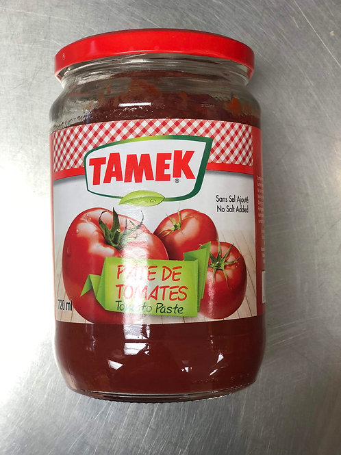 Pâte De Tomates Tamek 720ml