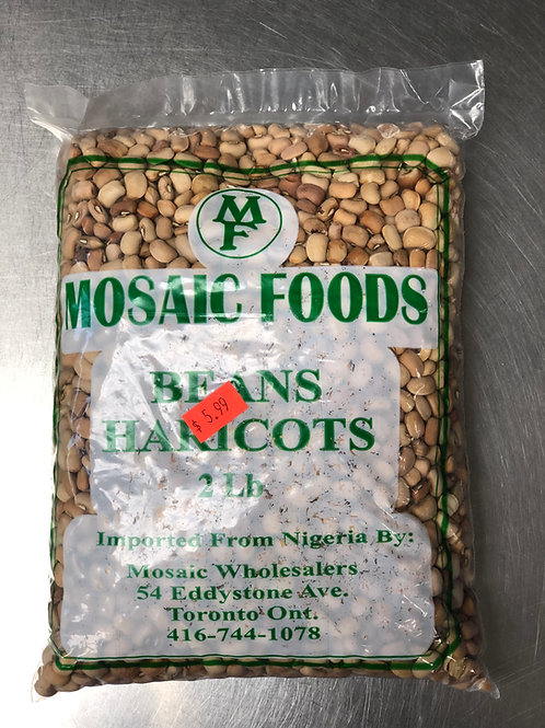 Haricots Mosaic Foods 2lb