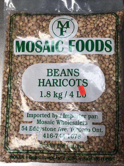 Haricot Mosaic Foods 4lb