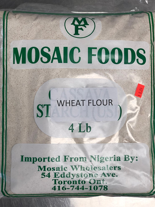 Wheat Flour 4lb Mosaic Foods