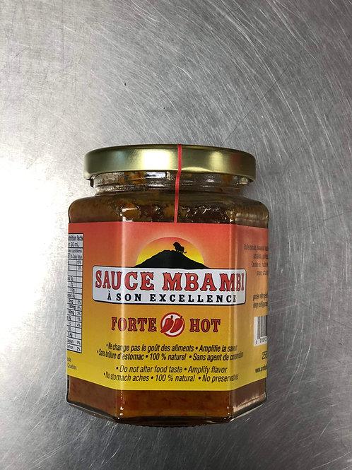 Sauce Piquqnte Mbambi  255ml