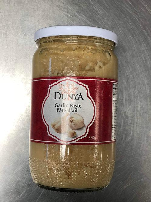 Pâte D'ail Dunya 650g