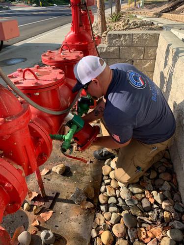 Adam Fulton of San Diego Backflow Testing