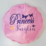 Double sided 100% satin personalize Name